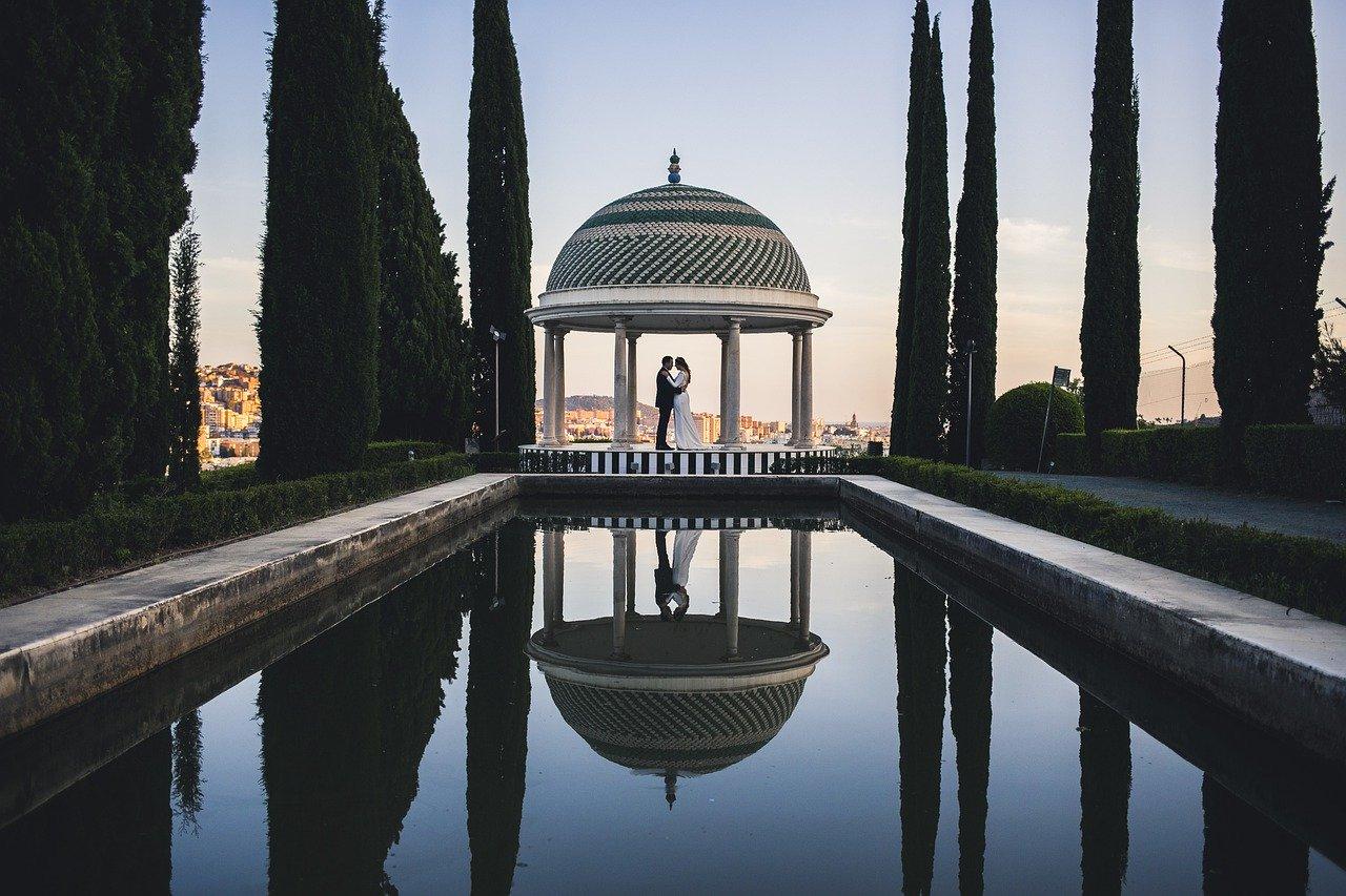 svatební místo altán